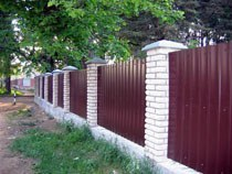 Строительство заборов, ограждений в Волгограде и пригороде, строительство заборов, ограждений под ключ г.Волгоград